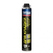 Профессиональная клей пена для газобетона Tytan Professional, 750 мл