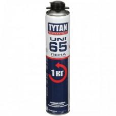 Профессиональная монтажная пена Tytan 65 Uni зимняя, 750 мл