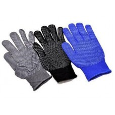 """Защитные перчатки из нейлона с точечным покрытием """"Стрейч с точкой"""""""